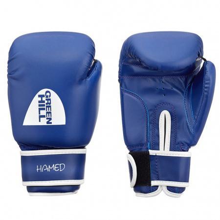 Боксерские перчатки Green Hill HAMED без таргета, 10oz Green HillБоксерские перчатки<br>Материал: Искусственная кожаВиды спорта: БоксБоксерские тренировочные перчатки Hamed без белой ударной поверхности. Верх сделан из синтетической кожи. Манжет на липучке.<br>