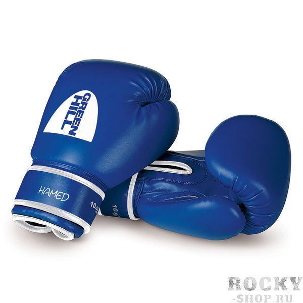 Боксерские перчатки Green Hill HAMED без таргета, 12oz Green HillБоксерские перчатки<br>Материал: Искусственная кожаВиды спорта: БоксБоксерские тренировочные перчатки Hamed без выделенной ударной части, Верх сделан из синтетической кожи. Манжет на липучке.<br><br>Цвет: Синий