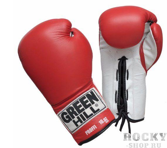 Боксерские перчатки Green Hill proffi, 16oz Green HillБоксерские перчатки<br>Материал: Натуральная кожаВиды спорта: БоксБоксерские перчатки Proffi. Верх сделан из натуральной кожи. Манжет на шнуровке.<br><br>Цвет: Коричневый
