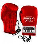 Боксерские перчатки POWER, кожа, 8 oz Green HillБоксерские перчатки<br>Перчатки сделаны из высококачественной натуральной кожи. Плотная посадка на руке обеспечивается за счет фиксации перчаток шнуровкой. Отличный выбор для соревновательных поединков.<br><br>Цвет: красный