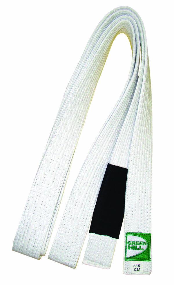 Пояс для джиу-джитсу, Белый Green HillЭкипировка для Джиу-джитсу<br>Материал: ХлопокВиды спорта: Джиу-джитсуОтличный выбор для профессионалов и любителей.<br>