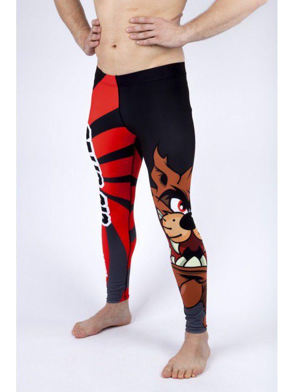 Купить Компрессионные штаны AsurA Lunatic Jiu Jitsu (арт. 8986)