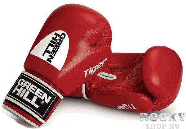 Купить Перчатки боксерские tiger (c новым логотипом) Green Hill 14 oz (арт. 8996)