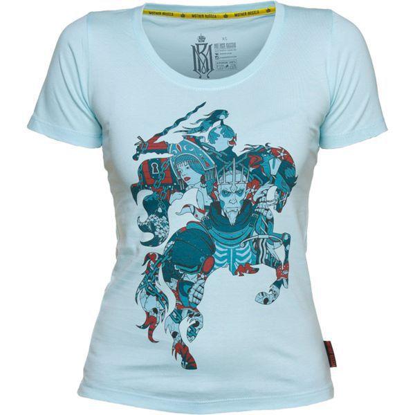 Купить Женская футболка Mother Russia Всадник (арт. 9014)