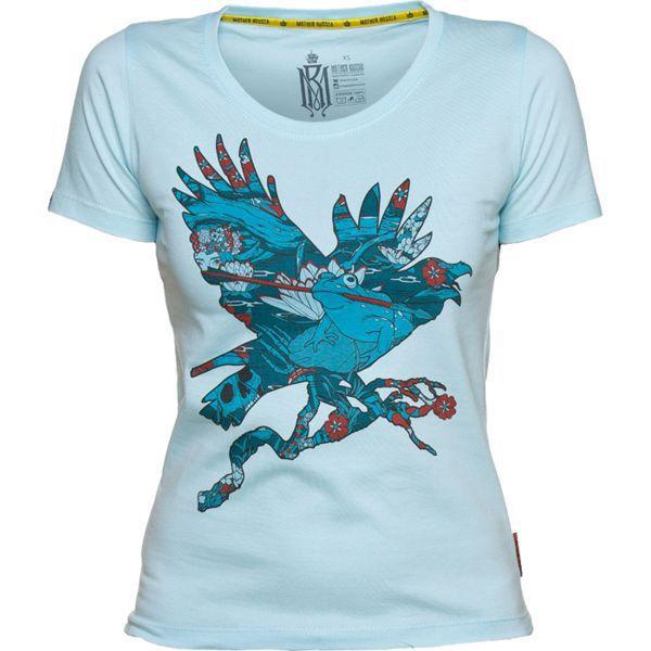 Купить Женская футболка Mother Russia Ворон (арт. 9015)