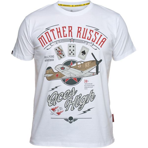 Купить Футболка Mother Russia Аэрокобра (арт. 9024)