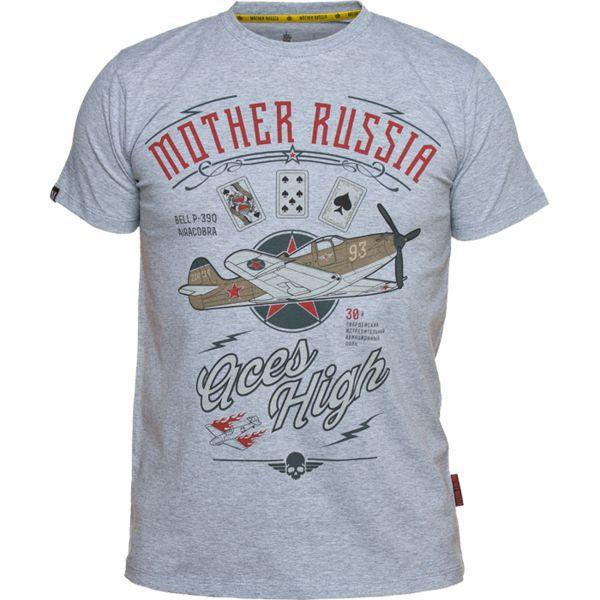 Купить Футболка Mother Russia Аэрокобра (арт. 9026)