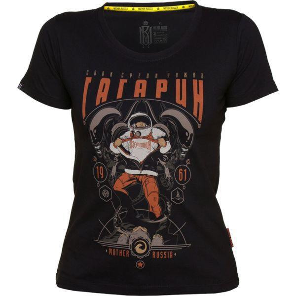 Купить Женская футболка Mother Russia Гагарин (арт. 9028)