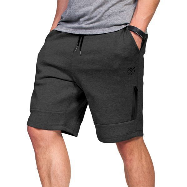 Шорты Wicked One Gris Grey Wicked OneСпортивные штаны и шорты<br>Шорты Wicked One Reach Gris Grey.Великолепные шорты для повседневного использования.На шортах присутствуют два боковых кармана и ещё дополнительный небольшой карман на фронтальной части, который застёгивается на молнию.На поясе шорты удерживаются с помощью довольно широкой резинки и шнурка.Состав: 70% хлопок, 25% полиэстер, 5% спандекс.<br>