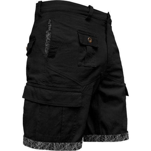 Шорты Wicked One Astro Wicked OneСпортивные штаны и шорты<br>Карго-шорты Wicked One Astro. Великолепные шорты для повседневного использования. Сочетание стиля и качества!. На поясе шорты удерживаются с помощью довольно широкой резинки и шнурка. Состав: 100% хлопок.<br><br>Размер INT: L