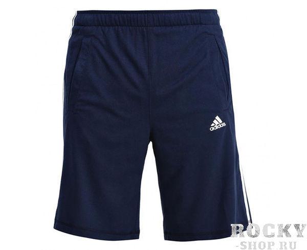 Купить Шорты спортивные Sport Essentials Shorts темно-синие Adidas (арт. 9150)