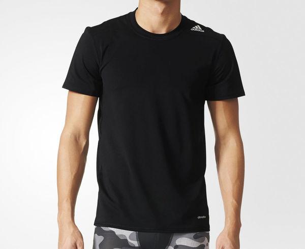 Купить Футболка компрессионная Techfit Base Fitted Short Sleeve черная Adidas (арт. 9151)