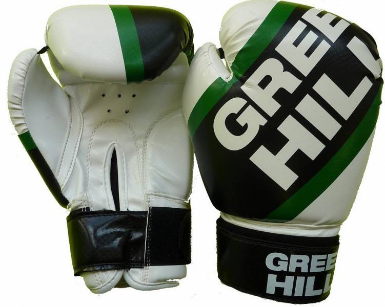 Боксерские перчатки Green Hill PASSION,  10 oz  Green HillБоксерские перчатки<br>Материал: Искусственная кожаПерчатки PASSION Сделаны из кож. зама. Манжет на липучке. Отличная тренировочная модель.<br><br>Цвет: белый