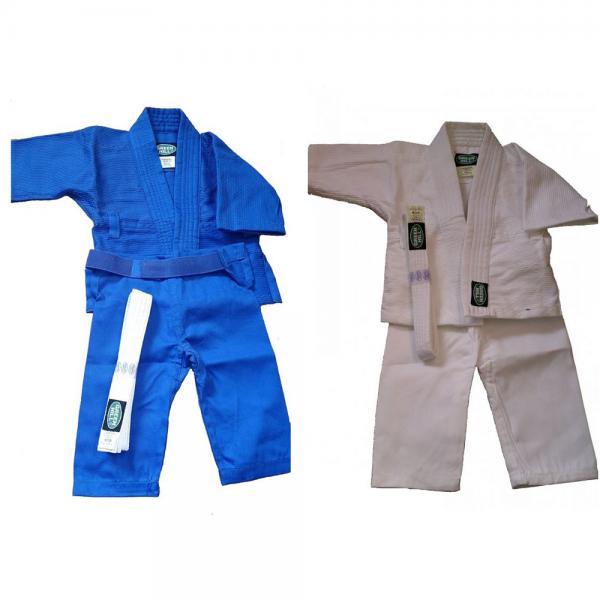Кимоно для дзюдо baby от Green Hill, 70см Green HillЭкипировка для Дзюдо<br>Материал: ХлопокВиды спорта: Дзюдо100% хлопок. Плотность 200 гр. /мКимоно для будущих спортсменов<br><br>Цвет: Синий