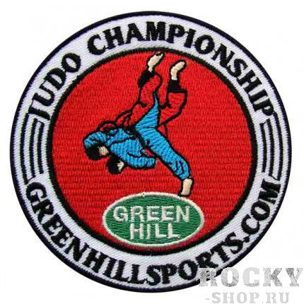Нашивка на кимоно /BADGES/ Green HillЭкипировка для Дзюдо<br>Нашивка на кимоно. Материал: хлопок/полиэстер.<br>