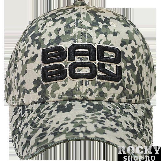 Бейсболка Bad Boy Bad Military light Bad BoyБейсболки / Кепки<br>Бейсболка (кепка) Bad Boy Bad Military light. Логотип Bad Boy качественно вышит. Размер бейсболки регулируется липучкой.<br>