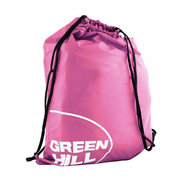 Спортивный рюкзак-мешок Green Hill Green HillСпортивные сумки и рюкзаки<br>Материал: НейлонУдобный спортивный мешок с заплечными лямками<br><br>Цвет: Розовый