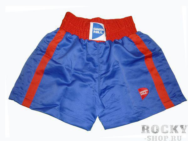 Детские боксерские шорты Kids, Синий Green HillШорты для бокса<br>Материал: ПолиэстерДетские боксерские шорты.<br><br>Размер INT: 10 лет