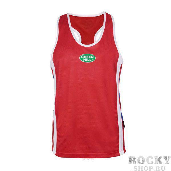 KIDS Майка боксерская, детская, Красный Green HillБоксерские майки<br>Материал: ПолиэстерДетская боксерская майка. Материал: 100% полиэстер.<br><br>Размер INT: 6лет