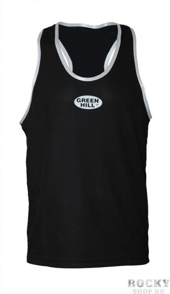 Майка боксерская , Черный Green HillБоксерские майки<br>Материал: ПолиэстерМайка боксерская. Материал: 100% полиэстер.<br><br>Размер INT: S