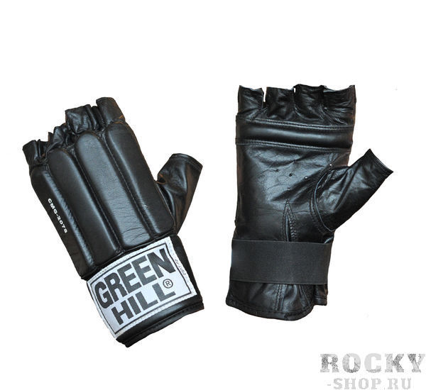Купить Шингарты для мма Green Hill черные (арт. 9324)