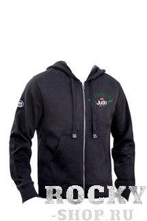 Толстовка с капюшоном judo (с молнией) fhsm-01b Green Hill, Черный Green HillТолстовки / Олимпийки<br>Мужская толстовка. Состав: 77% Хлопок, 23% Полиэстер.<br><br>Размер INT: XS