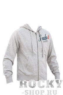 Толстовка с капюшоном judo (с молнией), Серый Green Hill (FHSM-02B)