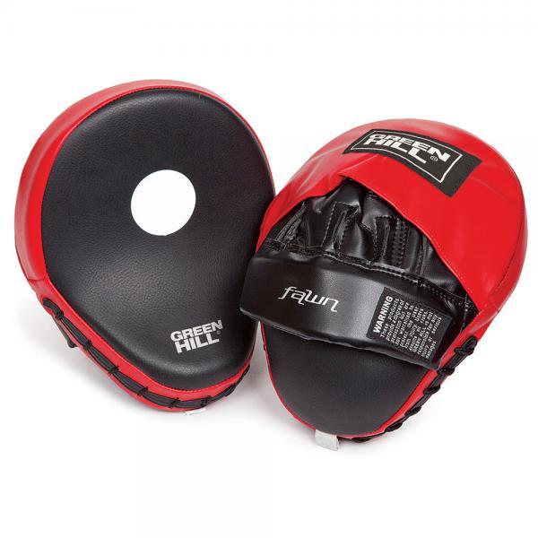 Купить Лапы боксерские изогнутые Green Hill FMF-8000B (арт. 9383)