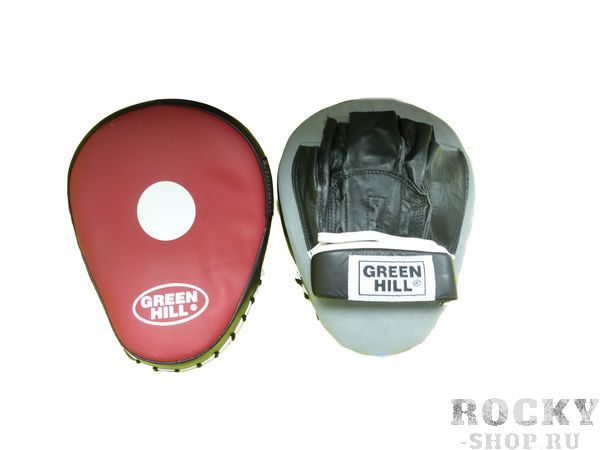 Лапы боксерские twist Green Hill FMT-5027 (арт. 9390)  - купить со скидкой