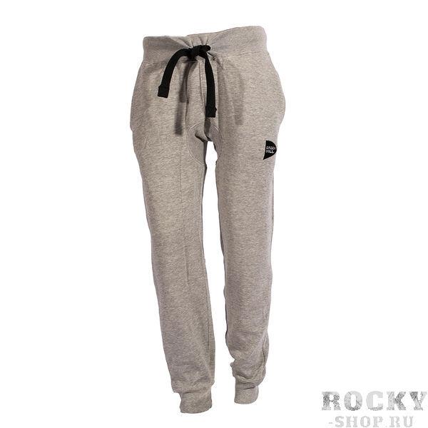 Тренировочные брюки на эластичных манжетах, серый Green HillСпортивные штаны и шорты<br>Тренировочные брюки манжеты эластичные. Материал: хлопок.<br><br>Размер INT: XXL