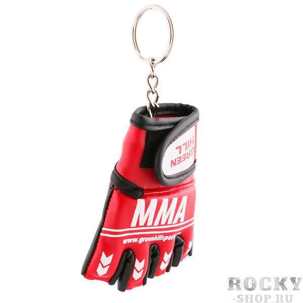 Брелок сувенирный перчатка MMA Green HillСувенирная продукция<br>Брелок сувенирный. Материал: искуственная кожа.<br>