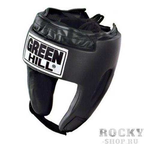 Детский боксерский шлем ORBIT, Черный Green HillБоксерские шлемы<br>Материал: Искусственная кожаВиды спорта: БоксШлем сделан из высококачественной искусственной кожи. Фиксируется сверху шнуровкой, сзади резинкой, а подбородок &amp;laquo;липучкой&amp;raquo;. Достаточно один раз отрегулировать шлем, чтобы он удобно сидел, впоследствии просто фиксировать &amp;laquo;липучкой&amp;raquo;. Этот шлем разработан специально для детей и подходит для разных видов единоборств.<br><br>Размер: M