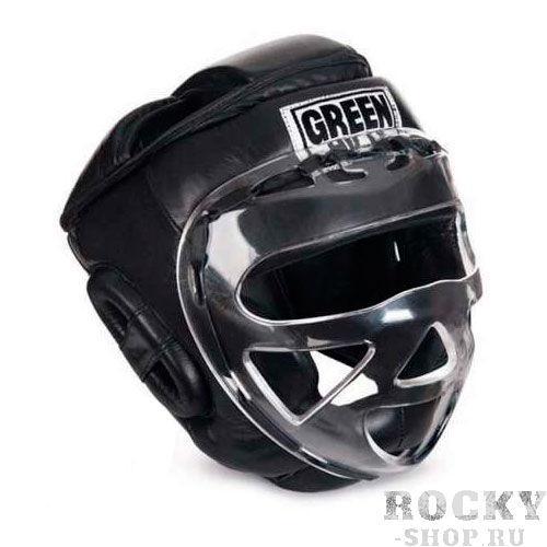 Шлем для бокса SAFE, Черный Green HillБоксерские шлемы<br>Материал: Натуральная кожаВиды спорта: БоксБоевой и тренировочный шлем. Сделан из высококачественной натуральной кожи. Усиленная защита в области ушей, и подбородка. Лицо защищает пластиковая маска.Размер:При подборе шлема следует также учесть, что размеры шлемов можно регулировать за счет специальных застежек.Для выбора шлемов, ориентируйтесь на следующие данные:охват головы - размер48-53 см - S54-56 см - М57-60 см – L61-63 см - XL<br>