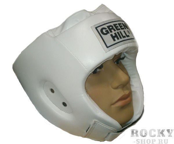 Шлем боксерский SPECIAL, Белый Green HillБоксерские шлемы<br>Материал: Искусственная кожаВиды спорта: БоксТренировочный шлем. Сделан из высококачественной искусственной кожи. двойная система крепления. Размер:При подборе шлема следует также учесть, что размеры шлемов можно регулировать за счет специальных застежек. Для выбора шлемов, ориентируйтесь на следующие данные:охват головы - размер48-53 см - S54-56 см - М57-60 см – L61-63 см - XL<br><br>Размер: M