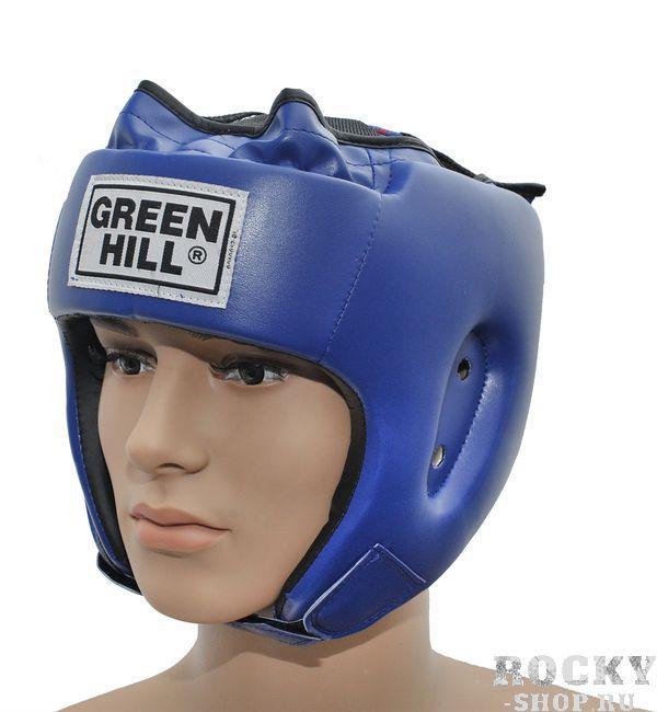 Шлем боксерский SPECIAL, Синий Green HillБоксерские шлемы<br>Материал: Искусственная кожаВиды спорта: БоксТренировочный шлем. Сделан из высококачественной искусственной кожи. двойная система крепления. Размер:При подборе шлема следует также учесть, что размеры шлемов можно регулировать за счет специальных застежек. Для выбора шлемов, ориентируйтесь на следующие данные:охват головы - размер48-53 см - S54-56 см - М57-60 см – L61-63 см - XL<br><br>Размер: XL