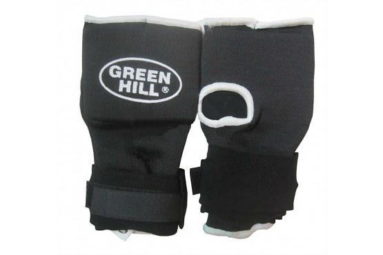 Купить Защита на кисть с фиксированным запястьем Green Hill черный (арт. 9450)