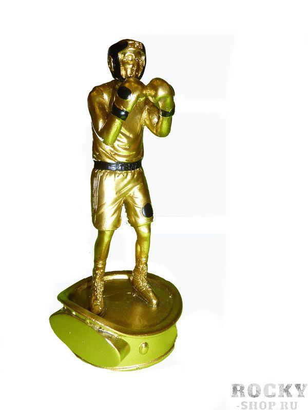 Статуэтка боксер, 8*8*16см Green HillСувенирная продукция<br>Статуэтка боксер, цвет золото, 8*8*16см<br>