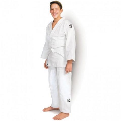 Кимоно для дзюдо CLUB , 110 Green HillЭкипировка для Дзюдо<br>Материал: ХлопокВиды спорта: ДзюдоКимоно предназначено для использования на интенсивных тренировках, начинающих спортсменов. Материал: 100% хлопок. Куртка усилена двойными швами на плечах, рукавах и груди. пояс включен в комплект. Плотность ткани: 500мг/см3.<br><br>Цвет: Белый