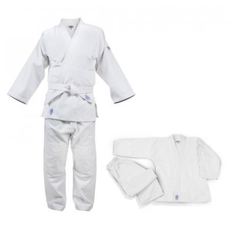 Кимоно для дзюдо CLUB (мод. 2014), 110 Green HillЭкипировка для Дзюдо<br>Материал: ХлопокВиды спорта: ДзюдоКимоно для дзюдо. Материал: хлопок 100%. Конструктивная особенность нити делает материал, из которого пошито кимоно, чрезвычайно крепким, почти не поддающимся усадке после стирки (+-2%)плотность 950г/м2<br><br>Цвет: Белый