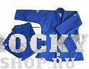 Кимоно для дзюдо OLIMPIC (одобрено IJF 2011), 170 Green HillЭкипировка для Дзюдо<br>Материал: ХлопокВиды спорта: ДзюдоКимоно дзюдо. Материал: 100% хлопок. Одобрено международной федерацией дзюдо IJF. Кимоно предназначено для использования на соревнованиях высшего уровня. Конструктивная особенность нити делает материал, из которого пошито кимоно, чрезвычайно крепким, почти не поддающимся усадке после стирки (+-2%). Кимоно также усилено двойными швами на плечах, рукавах и груди. Толщина воротника- 1 см, ширина воротника- 4-5 см. Плотность ткани: 950гр. /м2.<br><br>Цвет: Синий