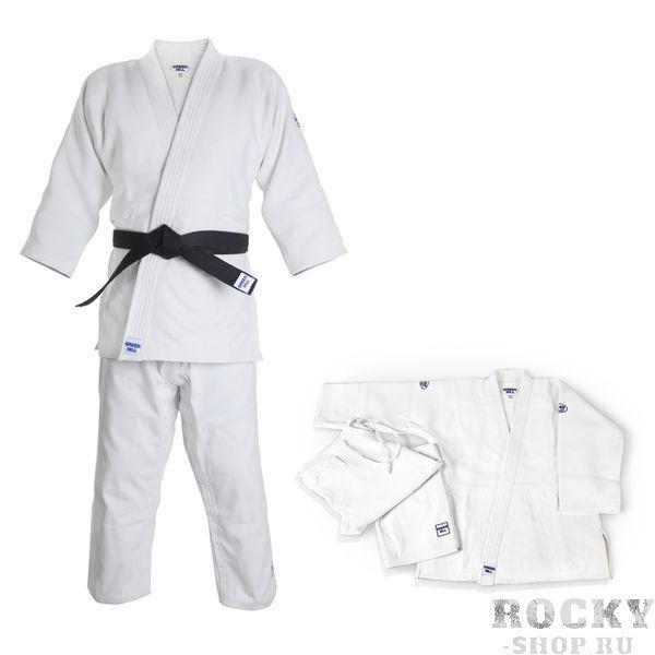 Кимоно для дзюдо OLIMPIC, 190 Green HillЭкипировка для Дзюдо<br>Материал: ХлопокВиды спорта: ДзюдоТренировочное кимоно.Материал: 100% хлопок. Предназначено для профессиональных тренировок. Конструктивная особенность нити делает материал, из которого пошито кимоно, чрезвычайно крепким, почти не поддающимся усадке после стирки (+-2%). Кимоно также усилено двойными швами на плечах, рукавах и груди. Толщина воротника- 1 см, ширина воротника- 4-5 см. Плотность ткани: 950гр./м2.<br>