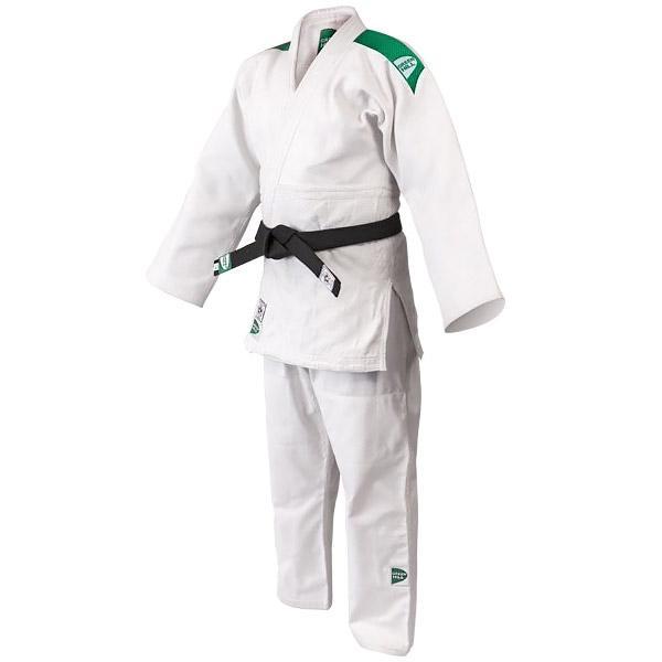Кимоно для дзюдо OLIMPIC (модель 2014), 160 Green HillЭкипировка для Дзюдо<br>Материал: ХлопокВиды спорта: ДзюдоКимоно дзюдо Olympic. Материал: 100% хлопок. Кимоно предназначено для использования в профиссиональных тренировках.Конструктивная особенность нити делает материал, из которого пошито кимоно, чрезвычайно крепким, почти не поддающимся усадке после стирки (+-2%). Кимоно также усилено двойными швами на плечах, рукавах и груди. Толщина воротника- 1 см, ширина воротника- 4-5 см. Плотность ткани: 950гр./м2.<br>
