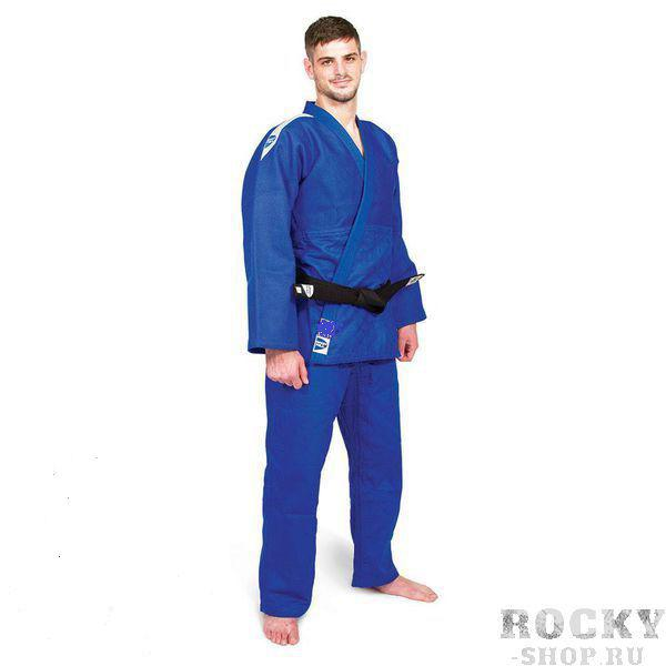 Кимоно для дзюдо PROFESSIONAL (модель 2015), Синий Green HillЭкипировка для Дзюдо<br>Материал: ХлопокВиды спорта: ДзюдоМатериал: 100% хлопок. Кимоно предназначено для использования в профессиональных тренировках. Конструктивная особенность нити делает материал, из которого пошито кимоно, черезвычайно крепким, почти не поддающимся усадке после стирки (+-2%). Плотность ткани 760 г/см<br><br>Размер: 185