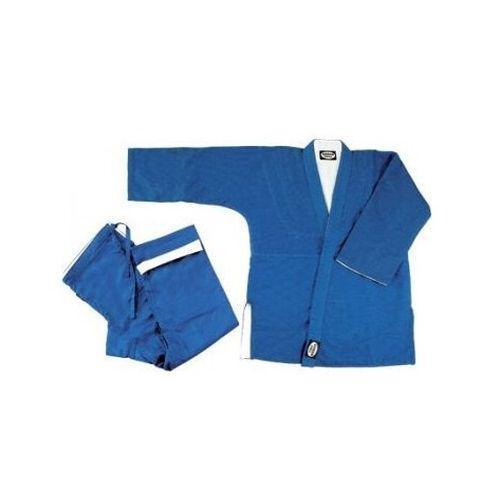 Кимоно для дзюдо REVERSIBLE, 190 Green HillЭкипировка для Дзюдо<br>Материал: ХлопокВиды спорта: ДзюдоКимоно Дзю-до REVERSIBLE Green Hill - уникальность данного кимоно состоит в том, что оно двустороннее. Одна сторона белая, другая - синяя, для тренировок и соревнований. Дышащий, 100% хлопок обеспечивает комфорт во время занятий, хорошо стирается. Плотность ткани: 950гр. /м2.<br><br>Цвет: Синий