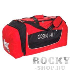 Спортивная сумка дзюдо Green Hill, 55*35*42 Green HillСпортивные сумки и рюкзаки<br>Среднеразмерная спортивная сумка с эмблемой дзюдо. Изготовлена из прочного водонепроницаемого материала(полиэстер). Комплектуется ремнем для ношения на плече. Размер: 55см/35см/42см. Цвет: красный с черными вставками.<br><br>Цвет: Красно-черный