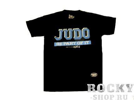 Футболка JUDO, Черный Green HillЭкипировка для Дзюдо<br>Материал: ХлопокВиды спорта: ДзюдоФутболка 100% хлопок.<br><br>Размер: XL