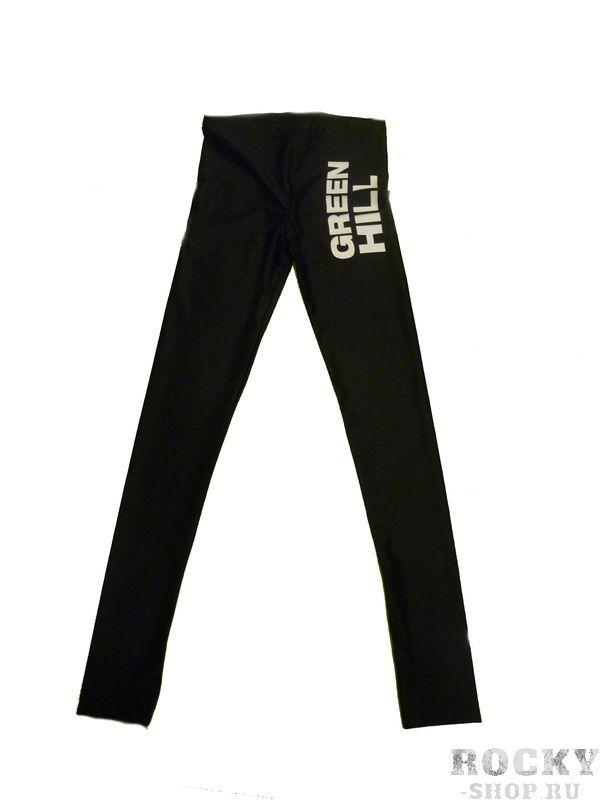 Компрессионные штаны Unisex, Черный Green HillКомпрессионные штаны / шорты<br>Материал: ЛайкраВиды спорта: ФитнесКомпрессионные штаны. Материал: лайкра. Объем талии 78 см,длина штанины 93 см,объем голени 28 см,высота посадки 25 см<br><br>Размер INT: XL