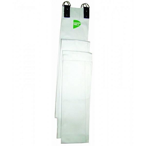 Рукав-канат для дзюдо Green Hill, 3 метра  Green HillЭкипировка для Дзюдо<br>Канат-рукав в виде длинного рукава дзюдоги из плетеной ткани. Очень полезный тренажер для тренировок спортсменов-дзюдоистов. Вырабатывает поистине железный хват.<br><br>Цвет: Белый