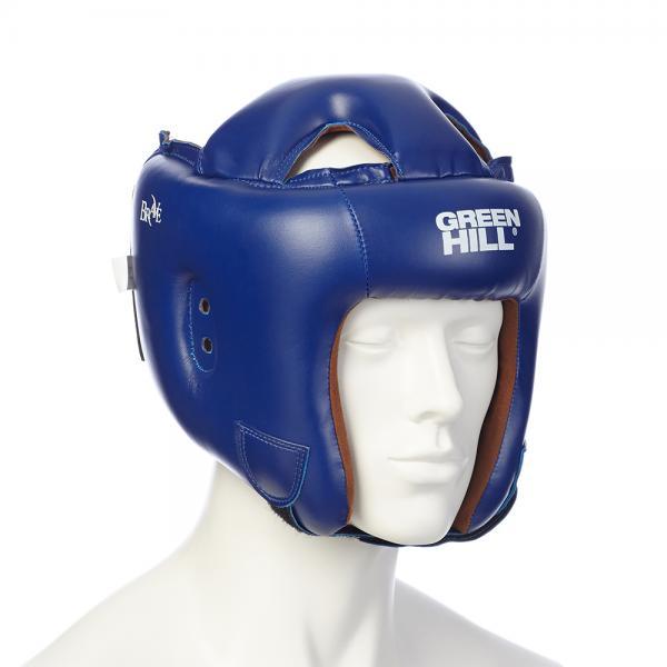 Купить Шлем для бокса brave Green Hill синий (арт. 9709)
