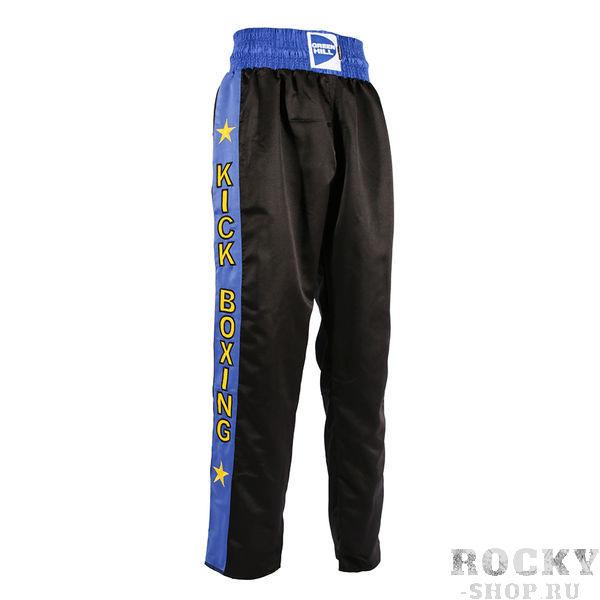 Брюки KIСK, Черный Green HillШтаны для кикбоксинга<br>Спортивные брюки от компании Green Hill созданы специально для тренировок и соревнований по кикбоксингу. Брюки выполнены из высококачественного полиэстера. Штаны прямого кроя с широким поясом на резинке не сковывают движений, в них Вы сможете наносить удары ногами без каких либо неудобств. По бокам брюки для кикбоксинга Green Hill KBT-3748 оформлены вставками контрастного цвета. Спереди на поясе имеется широкая текстильная нашивка с названием бренда Green Hill. Благодаря свободному крою и качественной ткани, Вы сможете тренироваться на максимуме своих возможностей без потери комфорта.<br><br>Размер INT: s